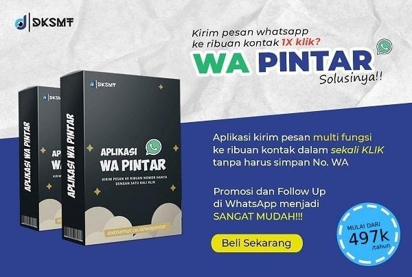 wa pintar aplikasi whatsapp marketing