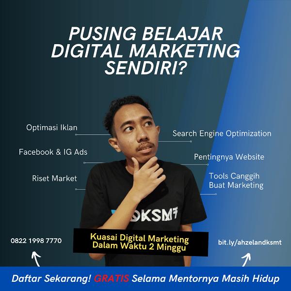 belajar digital marketing gratis
